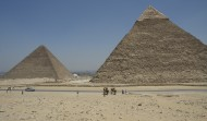 PyramidsOf Khufu and Khafre