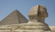 Sphinx and PyramidOfKhufu 1