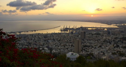 Haifa Sunrise hdr