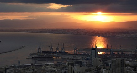 Haifa Harbor hdr